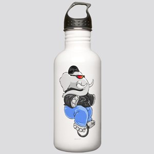 elephant_unicycle Stainless Water Bottle 1.0L