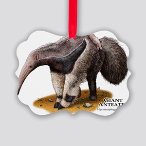 Giant Anteater Picture Ornament