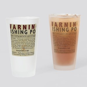 Fishing-Pox Drinking Glass