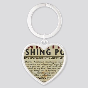 Fishing-Pox Heart Keychain