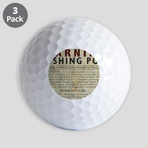 Fishing-Pox Golf Balls