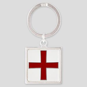 croix Square Keychain