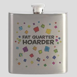 FatQuarterHoarderTote Flask