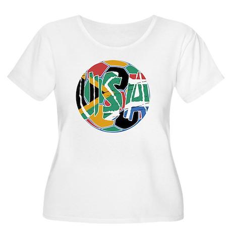 2-cpsports120 Women's Plus Size Scoop Neck T-Shirt