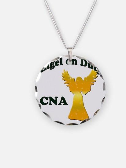 Angel on duty cna copy Necklace