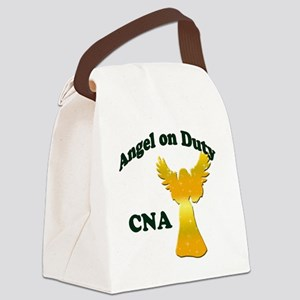 Angel on duty cna copy Canvas Lunch Bag