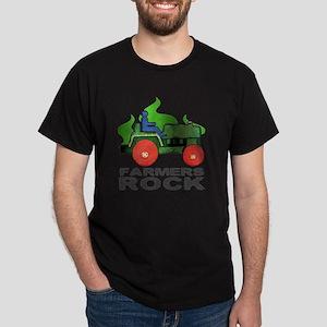 farmersRockLite Dark T-Shirt