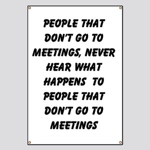 MEETINGS Banner