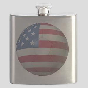 USA Soccer 2010 Flask