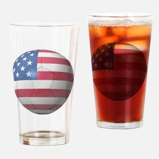 USA Soccer 2010 Drinking Glass