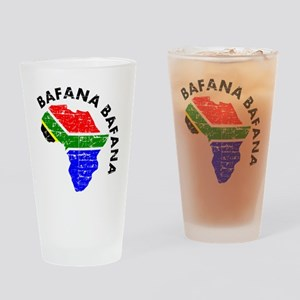 african soccer designs Drinking Glass