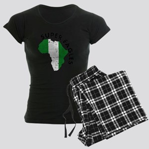 african soccer designs Women's Dark Pajamas