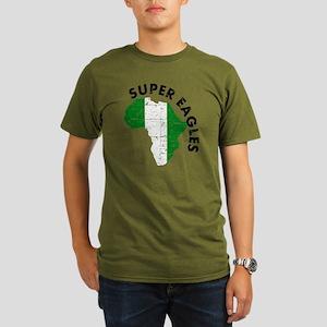 african soccer design Organic Men's T-Shirt (dark)