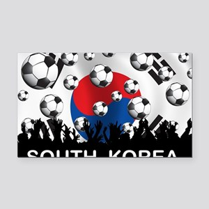 Korea Republic World Cup 2 Rectangle Car Magnet