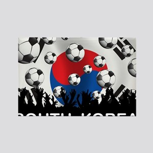 Korea Republic World Cup 2 Rectangle Magnet