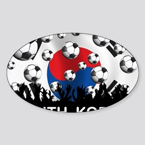 Korea Republic World Cup 2 Sticker (Oval)