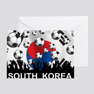 Korea Republic World Cup 2 Greeting Card