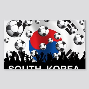 Korea Republic World Cup 2 Sticker (Rectangle)