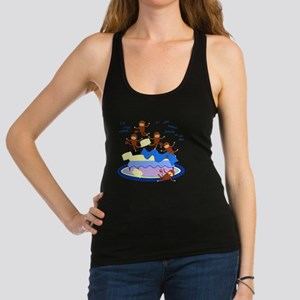 Five Little Monkeys Racerback Tank Top