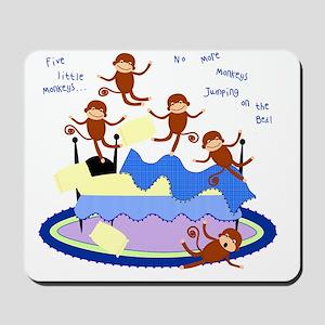 Five Little Monkeys Mousepad