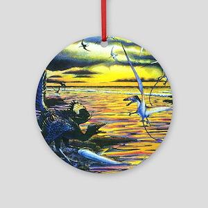 Archaeopteryx Round Ornament