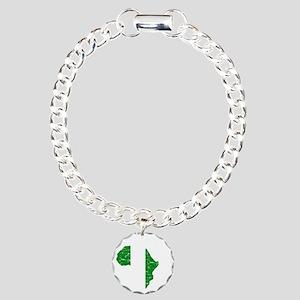 african soccer designs Charm Bracelet, One Charm