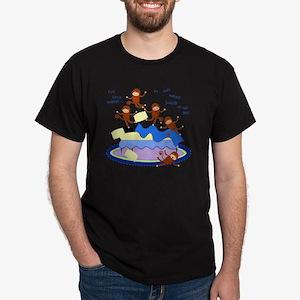 Five Little Monkeys Dark T-Shirt