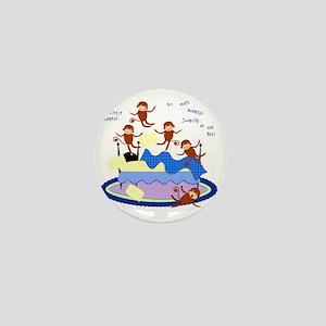 Five Little Monkeys Mini Button
