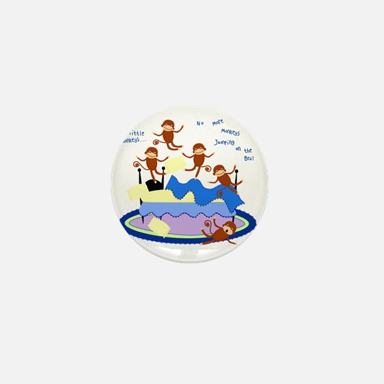 Five Little Monkeys Mini Button
