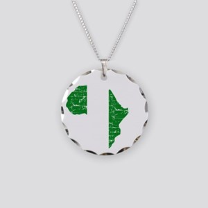 african soccer designs Necklace Circle Charm