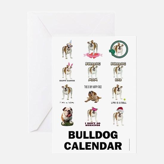3-FIN-bulldogs-VERTCAL-COVER Greeting Card