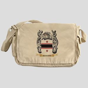 Kepler Coat of Arms - Family Crest Messenger Bag
