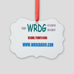WRDG T-Shirt Picture Ornament
