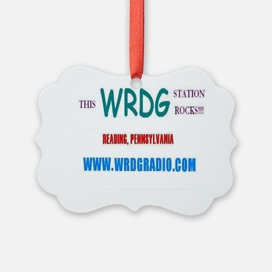 WRDG T-Shirt Ornament