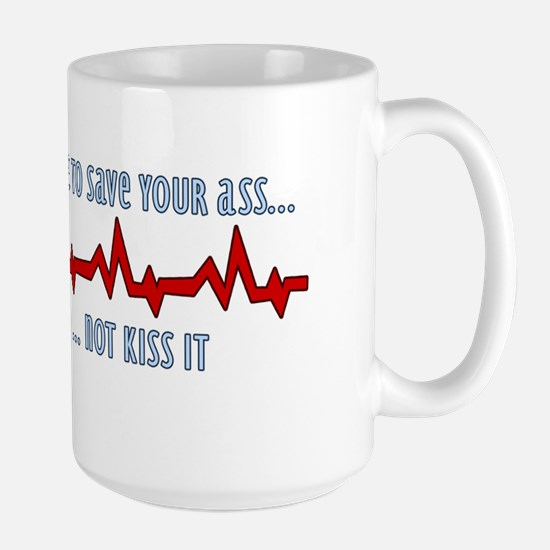 saveyourass Large Mug