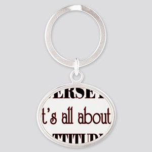all about Oval Keychain