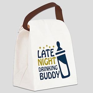 drinkingbuddy Canvas Lunch Bag