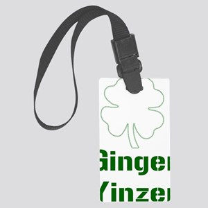 ginyincentered Large Luggage Tag