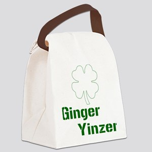 ginyin plain Canvas Lunch Bag