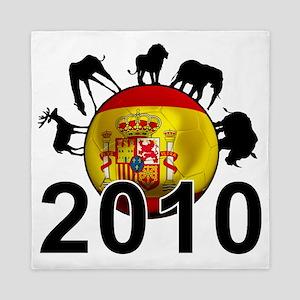 Spain Football4 Queen Duvet
