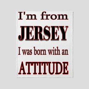 Jersey Attitude Throw Blanket