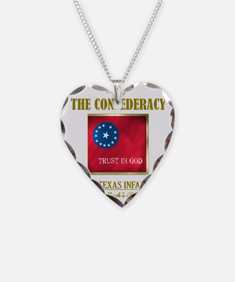 17th Texas Inf (Flag 3) Necklace