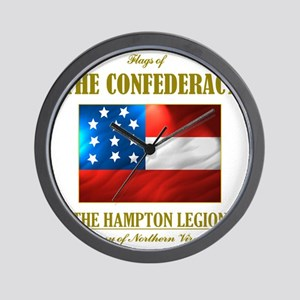 The Hampton Legion (Flag 3) Wall Clock