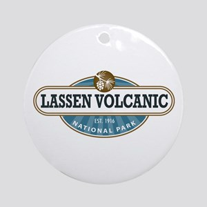 Lassen Volcanic National Park Ornament (Round)