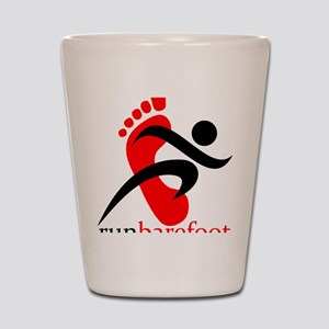 runbarefoot mid Shot Glass