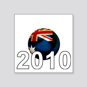 "Australia6Bk Square Sticker 3"" x 3"""