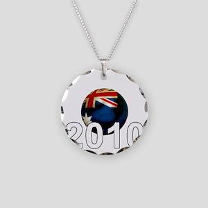 Australia6Bk Necklace Circle Charm