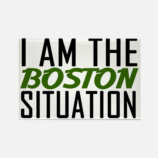 boston situation Rectangle Magnet