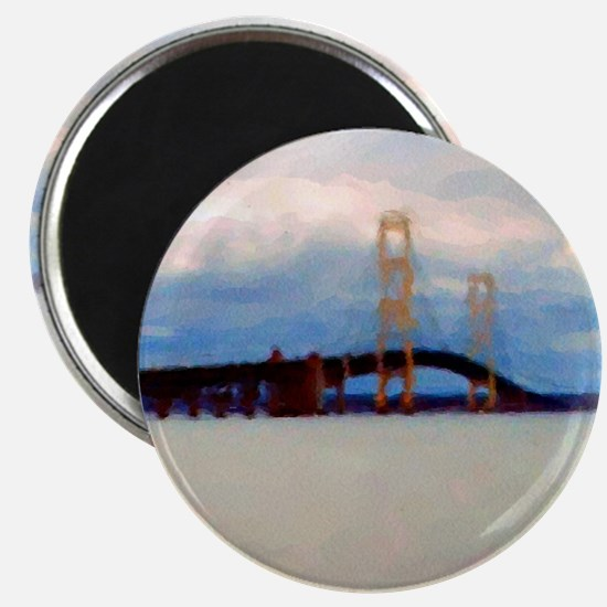 Mac Bridge Circle Magnet
