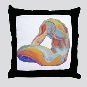 malenude Throw Pillow